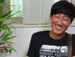 奮起湖車站監工長—黃炳源
